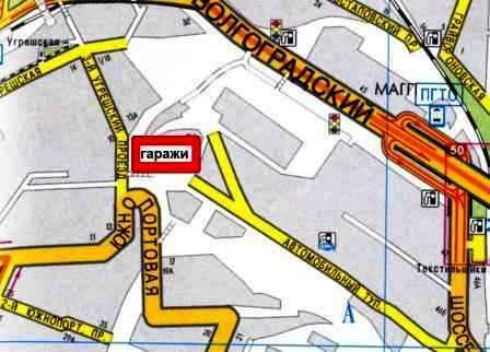 """Гараж расположен недалеко от станции метро  """"КОЖУХОВСКАЯ """" (8 минут пешком), рядом находится рынок автозапчастей  """"ЮЖНЫЙ..."""